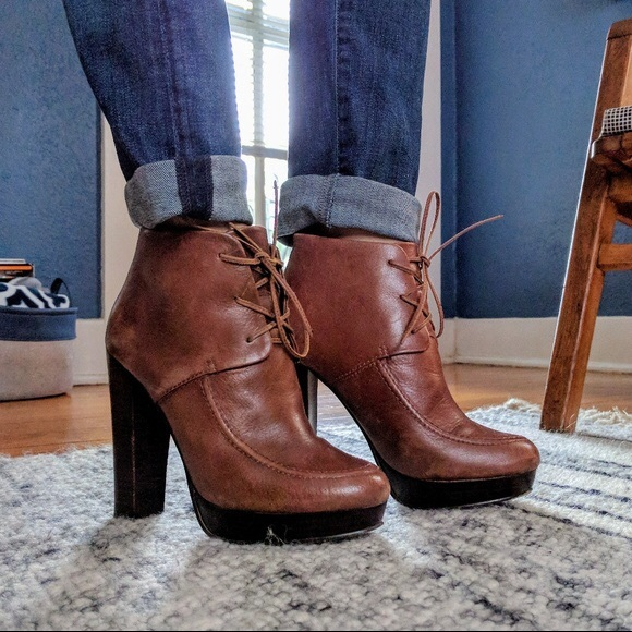 f368f8df29c Kelsi Dagger Shoes - Kelsi Dagger dark chocolate brown booties sz 6